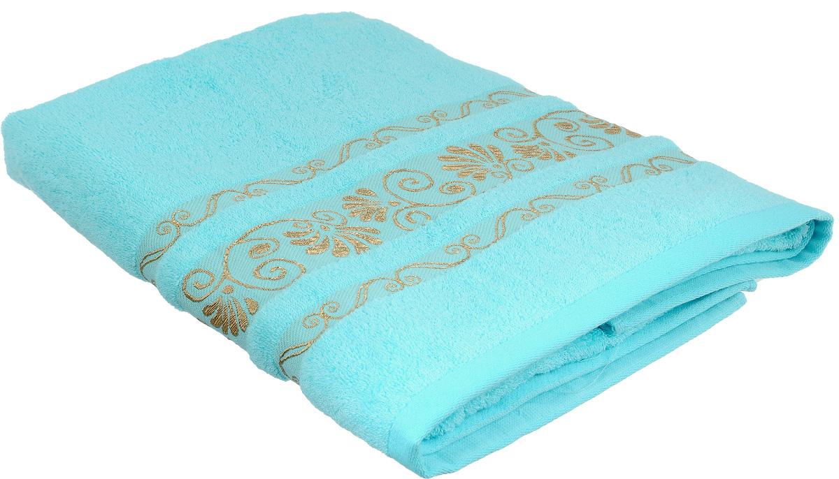 Полотенце Bonita Голубое сияние, цвет: голубой, 70 х 140 см1010216321Полотенце Bonita Голубое сияние изготовлено из мягкой смесовой ткани (30% хлопок и 70% бамбук). Полотенце идеально впитывает влагу и сохраняет свою необычайную мягкость даже после многих стирок. Полотенце Bonita - отличный вариант для практичной и современной хозяйки. С ним ваш дом наполнится красотой и только прекрасными эмоциями.