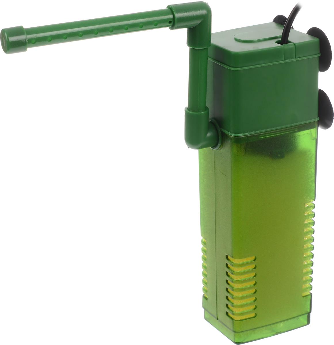 Фильтр для воды Barbus WP- 330F, аквариумный, с регулятором и флейтой, 600 л/чFILTER 004Barbus WP- 330F предназначен для фильтрации воды в аквариумах. Механическая фильтрация происходит за счет губки, которая поглощает грязь и очищает воду. Фильтр равномерно распределяет поток воды в аквариуме с помощью системы Водяная флейта. Имеет дополнительную насадку с возможностью аэрации воды. Подходит для пресной и соленой воды. Фильтр полностью погружной. Мощность: 12 Вт. Напряжение: 220-240В. Частота: 50/60 Гц. Производительность: 600 л/ч. Рекомендованный объем аквариума: 60-120 л. Уважаемые клиенты! Обращаем ваше внимание на возможные изменения в цвете некоторых деталей товара. Поставка осуществляется в зависимости от наличия на складе.