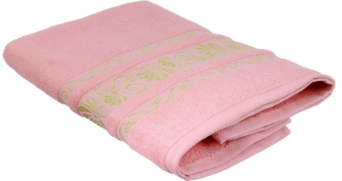 Полотенце Bonita Розовый фламинго, цвет: розовый, 70 х 140 см1010216322Полотенце Bonita Розовый фламинго изготовлено из мягкой смесовой ткани (30% хлопок и 70% бамбук) и оформлено рисунком с узорами. Полотенце идеально впитывает влагу и сохраняет свою необычайную мягкость даже после многих стирок. Полотенце Bonita - отличный вариант для практичной и современной хозяйки. С ним ваш дом наполнится красотой и только прекрасными эмоциями.