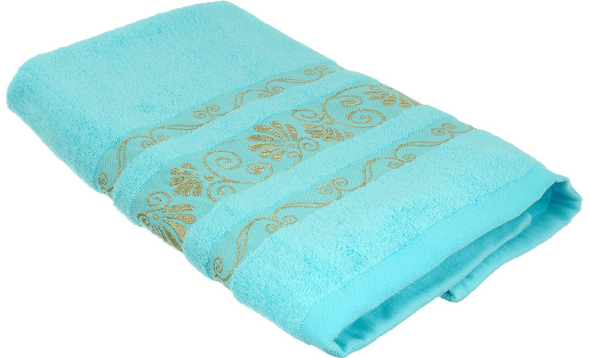 Полотенце Bonita Голубое сияние, цвет: голубой, 50 х 90 см1010216317Полотенце Bonita Голубое сияние изготовлено из мягкой смесовой ткани (30% хлопок и 70% бамбук). Полотенце идеально впитывает влагу и сохраняет свою необычайную мягкость даже после многих стирок. Полотенце Bonita - отличный вариант для практичной и современной хозяйки. С ними ваш дом наполнится красотой и только прекрасными эмоциями.