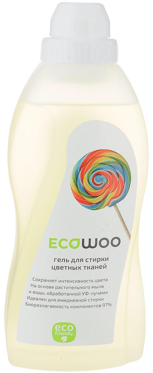 Гель для стирки цветных тканей EcoWoo, 700 мл80653Гель для стирки цветных тканей EcoWoo сохраняет интенсивность цвета. Изготовлен на основе растительного мыла и воды, обработанной УФ- лучами. Идеален для ежедневной стирки. Биоразлагаемость компонентов 97%. Мягкое средство с системой защиты цвета EcoWoo предотвращает перенос красителей и сохраняет яркость красок. Рекомендуется для стирки джинсовых тканей.Товар сертифицирован.