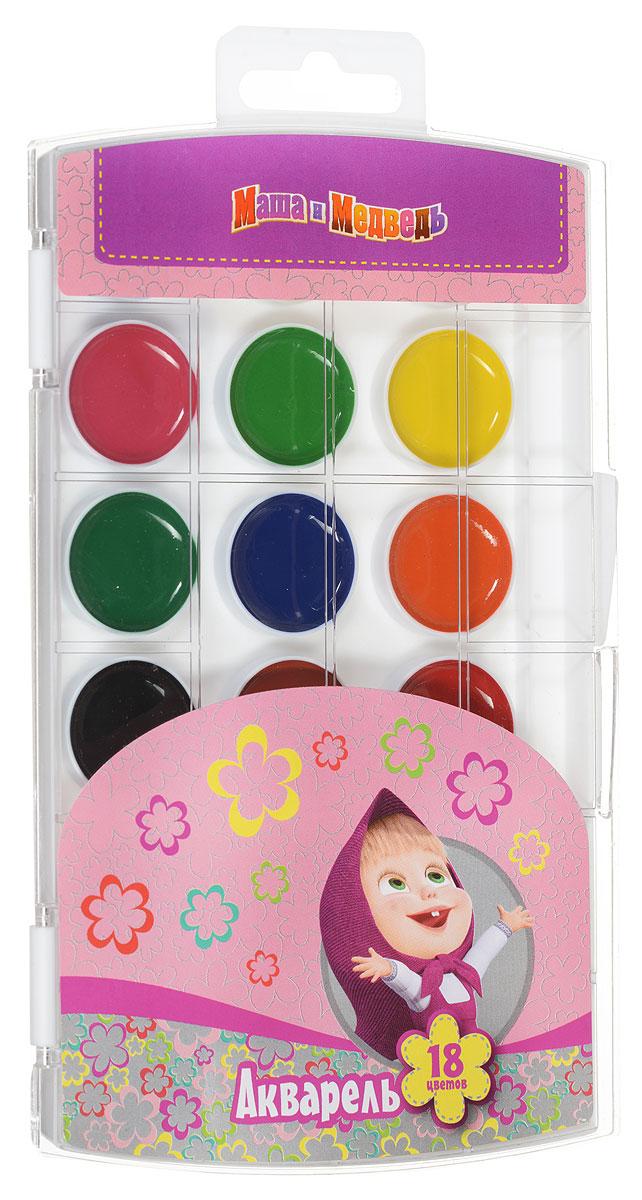 Маша и Медведь Акварель 18 цветовMDL4236Акварель Маша и Медведь включает в себя восемнадцать насыщенных цветов.Удобный пластиковый пенал четко фиксирует краску в специальных нишах, также в нем находится специальное отделение для хранения кисточки.Акварельные краски идеально подойдут для детского художественного творчества, изобразительных и оформительских работ. Краски легко размываются, создавая прозрачный цветной слой, легко смешиваются между собой, не крошатся и не смазываются, быстро сохнут. В процессе рисования у детей развиваются наглядно-образное мышление, воображение, мелкая моторика рук, творческие и художественные способности, вырабатываются усидчивость и аккуратность.