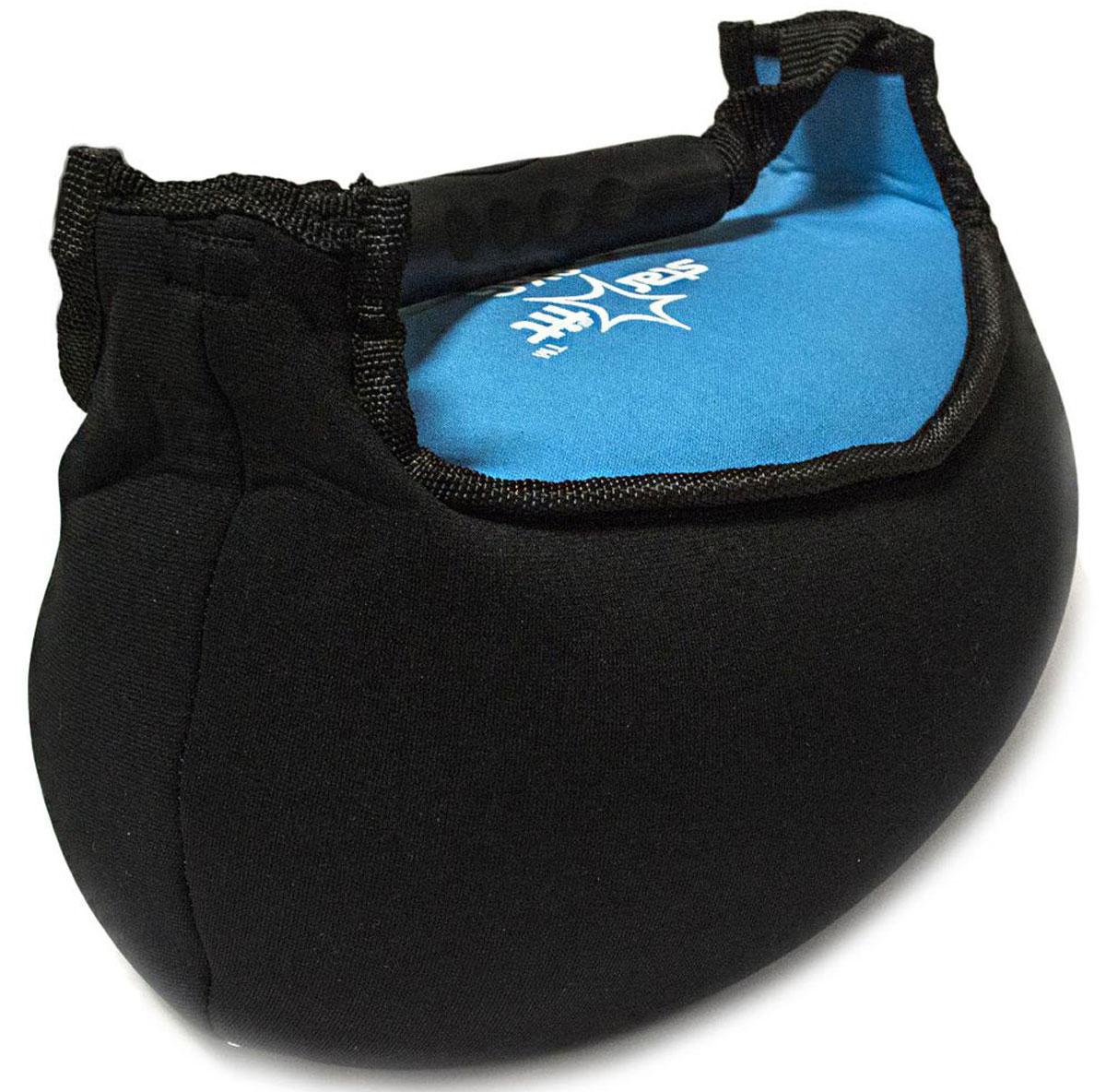 Гиря мягкая неопреновая Starfit, цвет: черный, синий, 8 кгSM939B-1122Гиря Star Fit выполнена из прочного неопрена с наполнителем из песка. Она предназначена для проработки различных групп мышц. Гиря оснащена удобной пластиковой ручкой.Гири - это самое простое и самое гениальное спортивное оборудование для развития мышечной массы. Правильно поставленные тренировки с ней позволяют не только нарастить мышечную массу, но и развить повышенную выносливость, укрепляют сердечнососудистую систему и костно-мышечный аппарат.Вес гири: 8 кг.