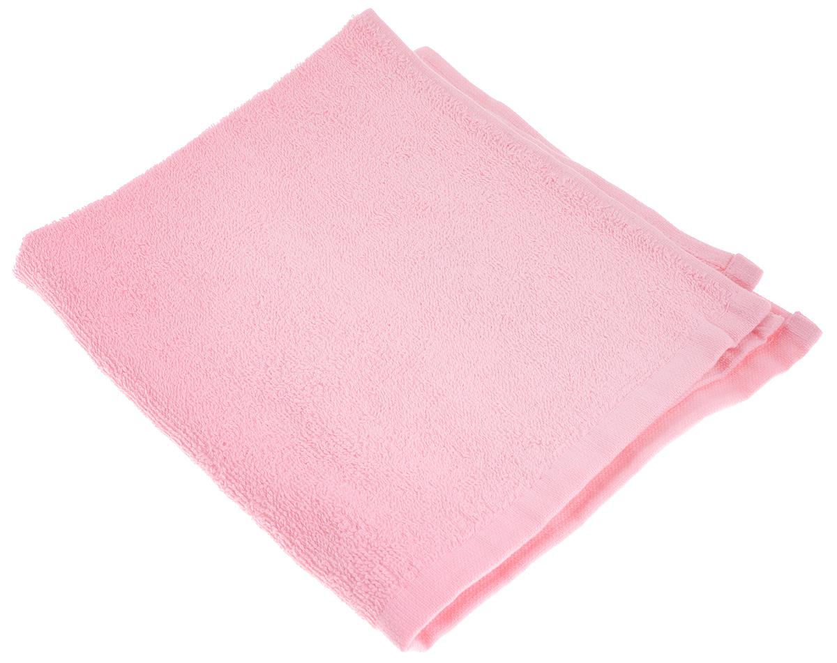 Полотенце махровое Osborn Textile, цвет: розовый, 40 х 40 см531-401В состав полотенца Osborn Textile входит только натуральное волокно - хлопок. Такое полотенце будет незаменимо в вашем быту. Оно создаст прекрасное настроение не только в ванной комнате, но и в кухне. Изделие прекрасно впитывает влагу и быстро сохнет. При соблюдении рекомендаций по уходу не линяет и не теряет форму даже после многократных стирок. Плотность: 400 г/м2.