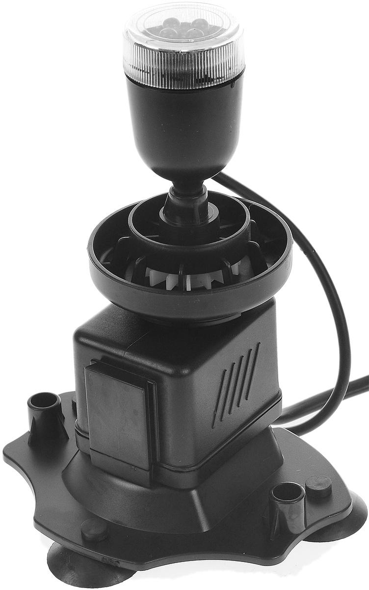 Аэратор Barbus Подводный вулкан, с подсветкой, 6 Вт0120710Аэратор Barbus Подводный вулкан предназначен для насыщения аквариума воздухом, кислородом, циркуляции воды. Изделие оснащено светодиодной подсветкой с 4 лампами. Корпус-трансформер позволяет использовать мощные присоски с любой стороны аквариума.Мощность: 6 Вт.Напряжение: 220-240В.Частота: 50/60 Гц.