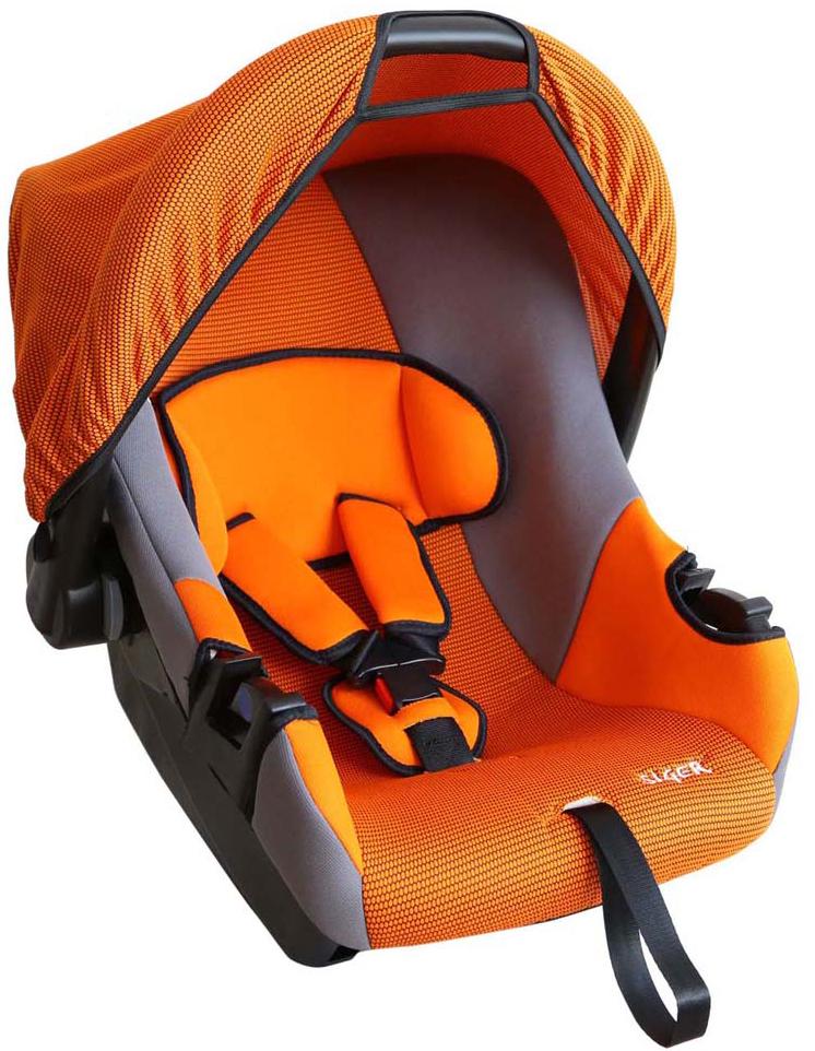 Siger Автокресло Эгида цвет оранжевый от 0 до 13 кгKRES0069Детское автокресло Siger Эгида разработано для детей от рождения и до 1,5 лет, весом до 13 кг. Относится к возрастной группе 0+. Мягкий вкладыш-подголовник обеспечивает дополнительный комфорт во время поездки. Съемный капюшон защищает ребенка от солнца, а удобная ручка позволяет без лишних усилий переносить ребенка, как в обычной люльке. Ярко выраженная боковая защита позволяет повысить уровень безопасности при боковых ударах и резких поворотах. Детские удерживающие устройства Siger разработаны и выполнены в России с учетом анатомии российских детей. Двухпозиционная регулировка внутренних ремней позволяет адаптировать кресло под зимнюю и летнюю одежду ребенка. Автокресло успешно прошло все необходимые краш-тесты и имеет сертификат соответствия техническому регламенту РФ и таможенному союзу. В детском автомобильном кресле Siger ваш ребенок будет путешествовать в безопасности и с удовольствием!