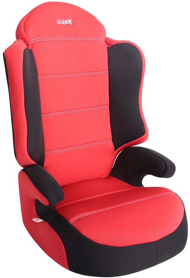 Siger Автокресло Спорт цвет красный от 15 до 36 кг