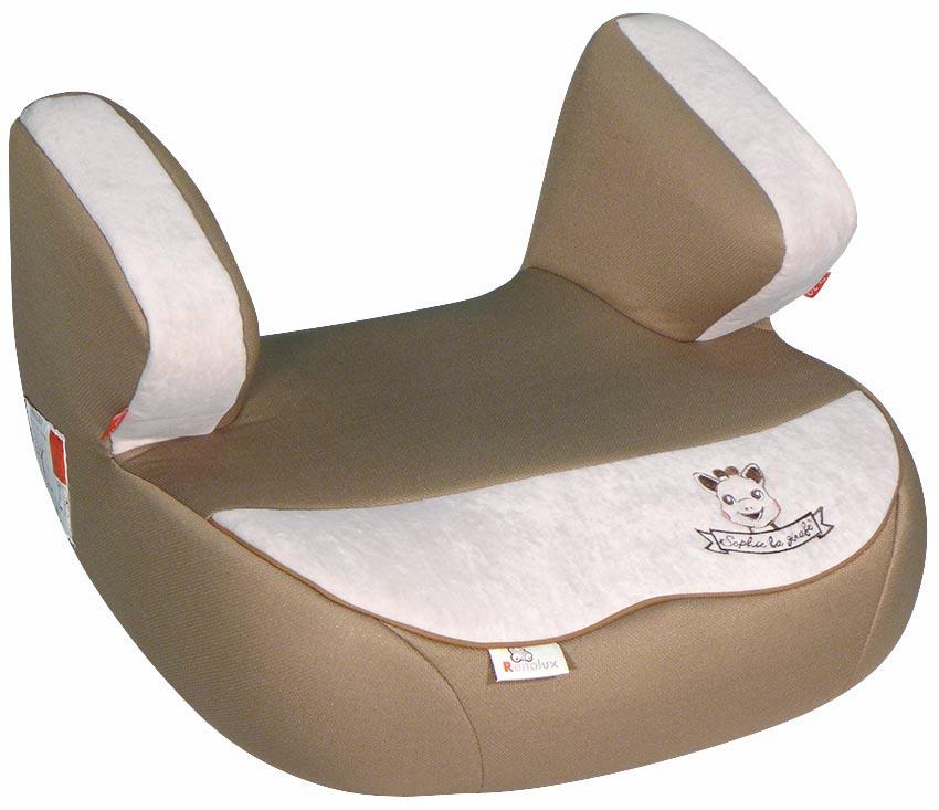 Renolux Автокресло Jet Sophie La Girafe229146Бустер Renolux Jet для возрастной группы 2/3 (от 15 до 36 кг). Автомобильное кресло-бустер предназначено для безопасной перевозки в автомобиле детей весом от 15 до 36 кг, одобрено в соответствии со стандартами ECE R44/04. Конструкция бустера изготовлена по инновационной технологии THD - пенополиуретан высокой плотности на каркасе из высокопрочной стали. Бустер Jet идеально подходит для длительных поездок, потому что он исключительно удобный и мягкий. Выбирая эту модель кресла, вы можете быть уверены, что она спроектирована и произведена во Франции. Особенности: технология HD-CONFORT: пена высокой плотности на каркасе из высокопрочной стали; широкое и суперкомфортное сиденье; идеально для длительных поездок; очень легкое; легко снимается чехол для стирки; сделано во Франции.