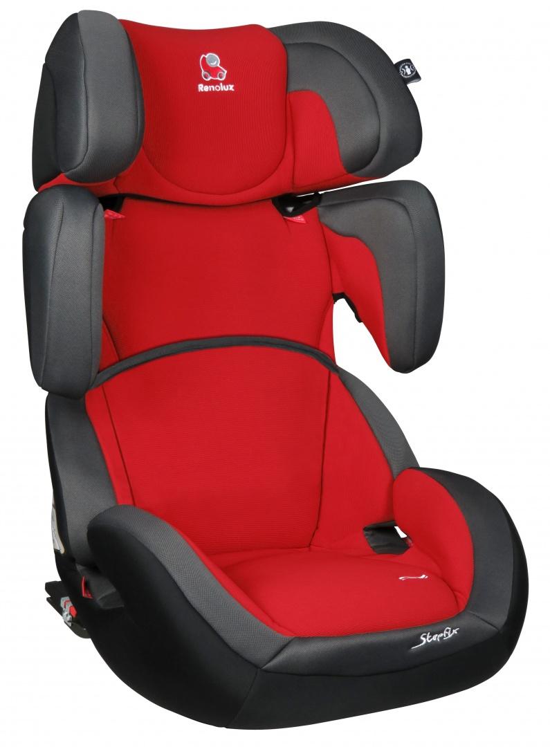 Renolux Автокресло StepFix Romeo цвет красный серый291663Автокресло StepFix группы 2/3 рассчитано на долговременное использование для перевозки детей от 3 до 12 лет. Конструкция кресла позволяет удобно и безопасно расположиться детям более 15 кг и менее 36 кг. Renolux StepFix - адаптируемое кресло-бустер которое растёт вместе с вашим ребёнком. Конструкция кресла позволяет удобно и безопасно расположиться малышам весом более 9 кг и детям весом менее 36 кг. Боковая защита, регулируемый подголовник и регулируемые ремни безопасности, а также возможность демонтажа специальной вставки позволяют креслу расти вместе с ребенком. Кресло Renolux StepFix оснащено стальным каркасом покрытого пенополиуретановой пеной повышенной плотности. Подголовник и спинка регулируются по высоте, имеется удобные подлокотники, анатомическая подушка и боковая защита. Регулируемая спинка и подголовник обеспечивают возможность максимально адаптировать кресло под рост ребенка, а регулируемый наклон спинки делает более комфортным...