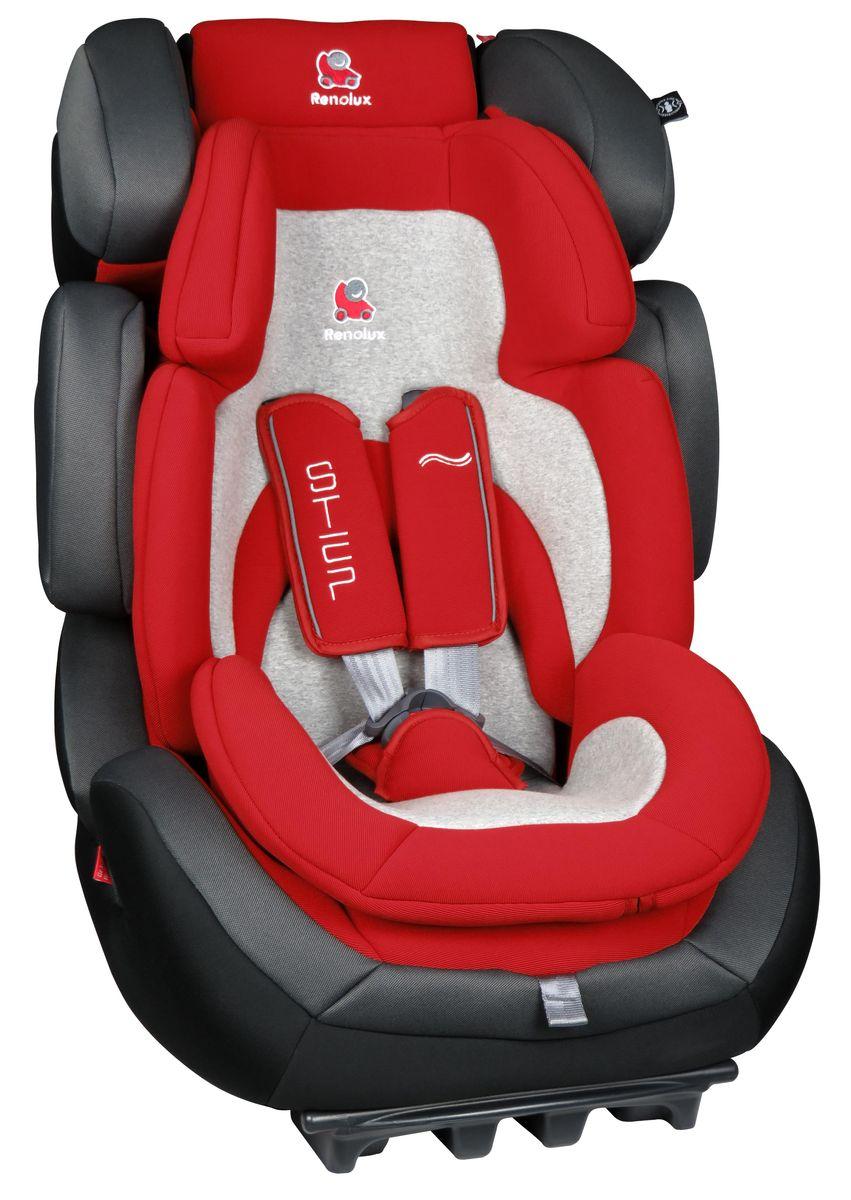 Renolux Автокресло Step 123 Romeo295663Детское автокресло Renolux модель Step 1/2/3 возрастная группа 1/2/3 (от 9 до 36 кг). Надежное детское автокресло предназначено для безопасной перевозки в автомобиле детей весом от 9 до 36 кг, одобрено в соответствии со стандартами ECE R44/04. Супер-адаптируемое кресло, которое растет вместе с вашим ребенком. Широкое и удобное, в нем малыш себя будет чувствовать комфортно даже в длительных путешествиях. Вкладыш-адаптер для группы 1 состоит из двух съемных частей, изготовлен с применением пенополиуретана высокой плотности. Эта модель автокресла получила бронзовый знак отличия по версии английского журнала Mother&Baby (Мама и малыш) в 2015 году. Выбирая эту модель кресла, вы можете быть уверены, что она спроектирована и произведена во Франции. Особенности: подголовник и боковая защита регулируется по ширине и высоте, встроенный в базу усилитель наклона, усиленная боковая защита, внутренние ремни безопасности (регулируются автоматически, вместе с регулировкой высоты...