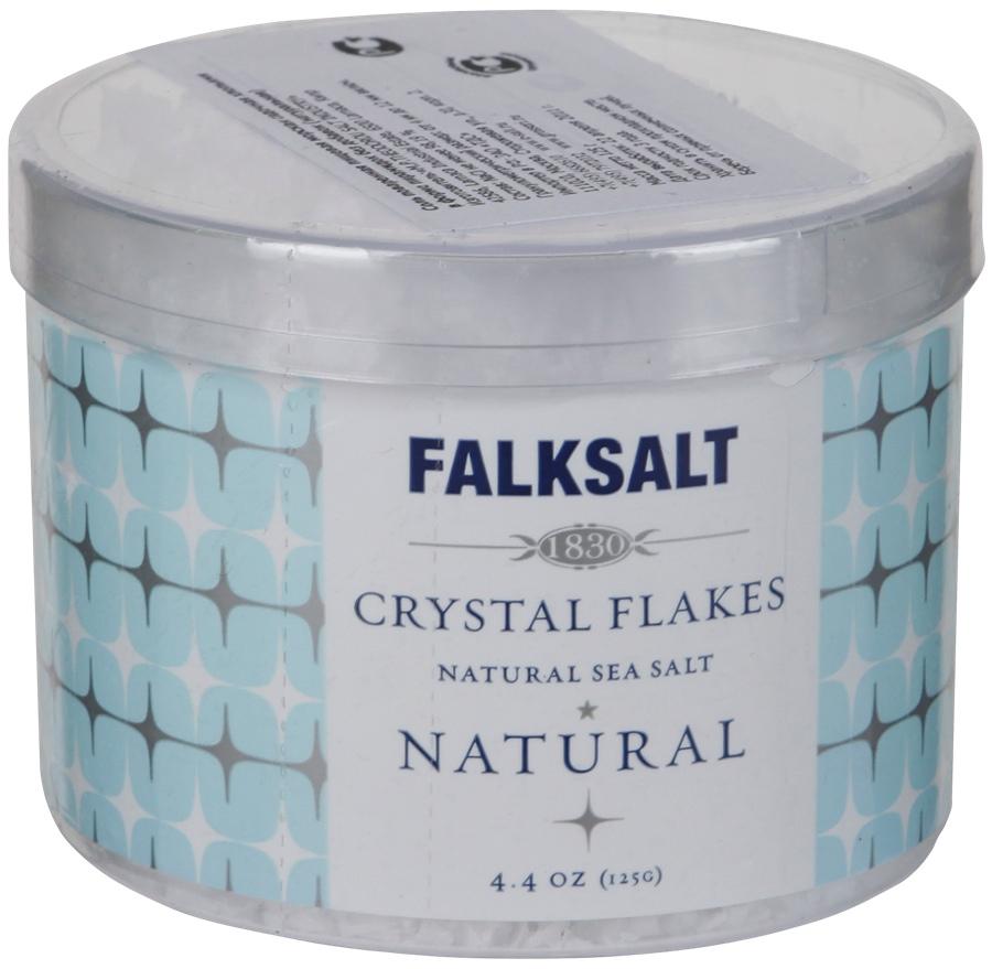 Falksalt соль морская пищевая хлопьями натуральная, 125 г4576Морская соль без вкусовых добавок - это Falksalt Crystal Flakes в форме хлопьев. Ее производят тем же способом, что и всю морскую соль Falksalt в форме хлопьев. Сначала выпаривают чистую морскую воду до тех пор, пока не останется практически ничего, кроме соли. Затем очищается раствор, его кипятят на медленном огне в больших кастрюлях до появления хлопьев. Затем соль аккуратно собирается вручную и запечатывается в уникальную упаковку. Гранулометрический размер: от 4 до 12 мм