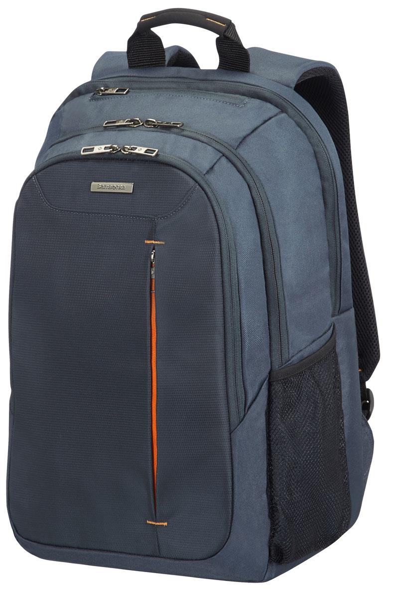Рюкзак для ноутбука Samsonite, цвет: серый, 27 л, 32 х 22 х 48 см88U*08006Коллекция GUARDIT является идеальным решением для пользователей ноутбуков,объединяет в себе базовую функциональность с отличным внешним видом из полиэстера.Особенности коллекции: передний караман с внутренней организацией,умный карман, верхняя ручка с прокладкой из неопрена.