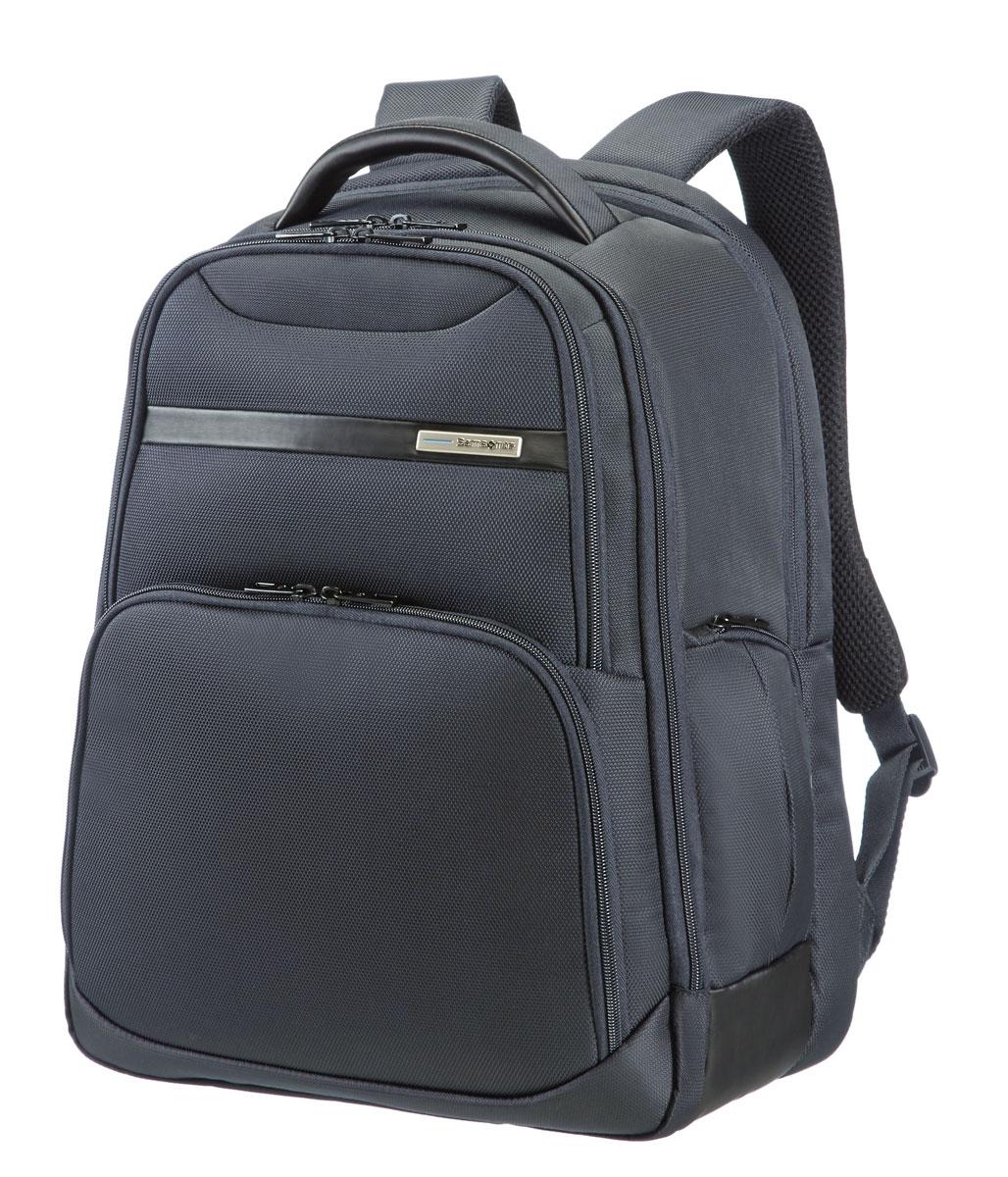 Рюкзак для ноутбука Samsonite, цвет: черный, 27 л, 33,5 х 25 х 44,5 см39V*09008Сочетание прочного полиэстера и элементов полиуретана с отполированной металлической фурнитурой;потайной карман для хранения; удобные и хорошо организованные модели рюкзаков