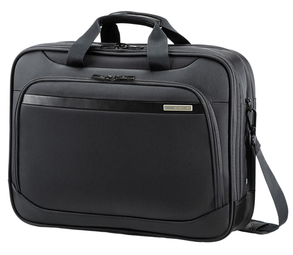 Сумка для ноутбука Samsonite, цвет: черный, 18 л. 80U*0900580U*09005