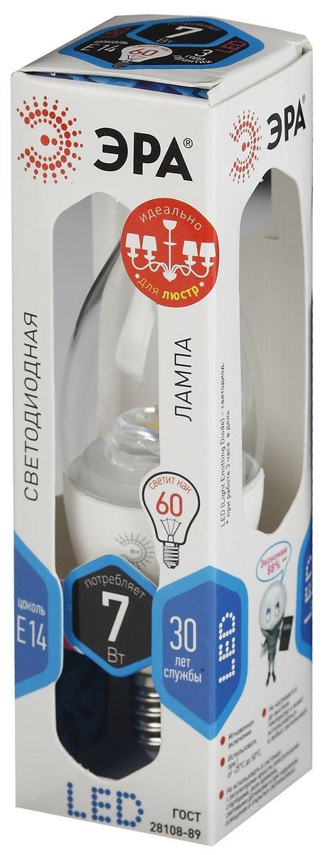 Лампа светодиодная ЭРА, LED smd BXS-7w-840-E14-Clear5055945518412