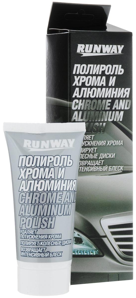 Полироль хрома и алюминия Runway, 50 млRW2546Полироль Runway устраняет потускнения хромированных деталей автомобиля и алюминиевых колесных дисков автомобиля, возвращая им первоначальный блеск. Быстро очищает все металлические поверхности от окислов, ржавчины и сложных загрязнений не повреждая их. После применения оставляет интенсивный блеск. Не содержит силиконов. Может применяться в быту для ухода за изделиями из серебра, золота, хрома, а также магниевых и алюминиевых сплавов. Товар сертифицирован.