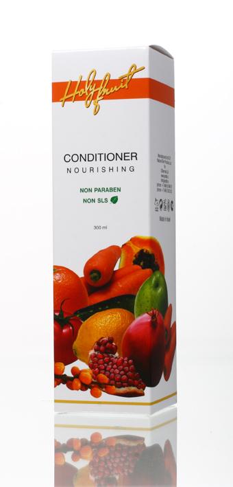 Holy Fruit Кондиционер питающий Nourishing Conditioner Antistress,300мл7290008564281Питающий кондиционер содержит масло жожоба, арганы, облепихи, экстракт крапивы и розмарина, масло гранатовых косточек. Уникальное сочетание этих компонентов эффективно устраняет сухость и ломкость волос, смягчает секущиеся кончики, восстанавливает волосы, травмированные химическим и термическим воздействием. Масло арганы и облепихи способствуют росту волос, защищают от воздействия солнечных лучей. При регулярном использовании кондиционера волосы становятся послушными, обретают блеск и жизненную силу.