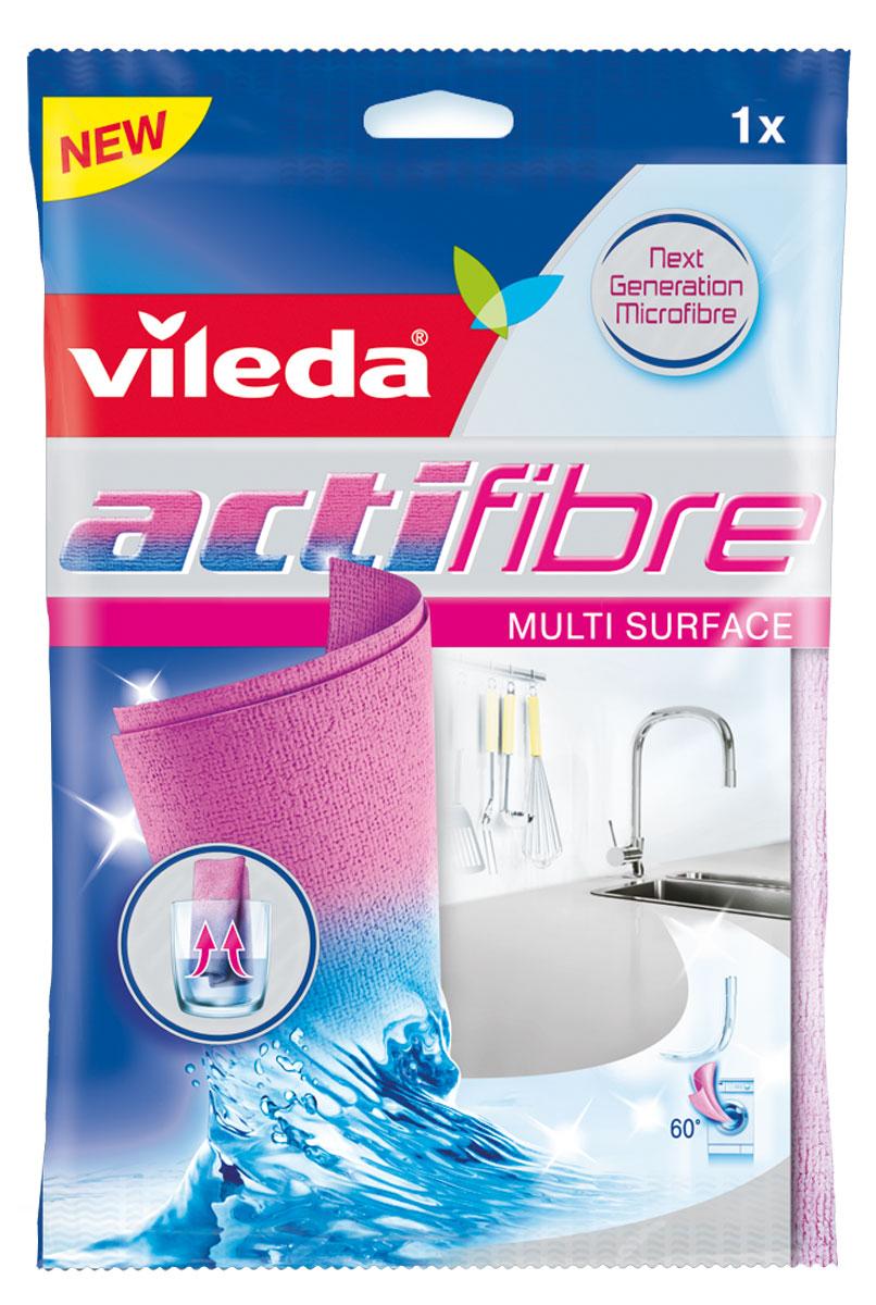 Салфетка Vileda Актифайбр32110751Впитывает лучше, чем салфетки из обычной микрофибры. Впитывает и удерживает до 100 мл жидкости. Непревзойденное качество уборки за счет уникального сочетание микрофибры и ПВА (поливинилацетата) в составе салфетки. можно использовать на любых поверхностях Микрофибра удаляет любые, даже жирные пятна, без применения химический средств. ПВА обеспечивает супервпитываемость (салфетками ПВА сушат машины на автомойках).