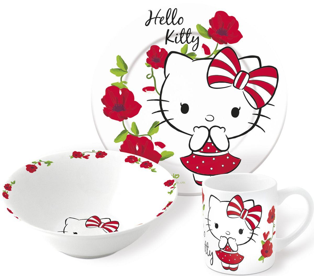 Hello Kitty Набор детской посуды 3 предмета 46265