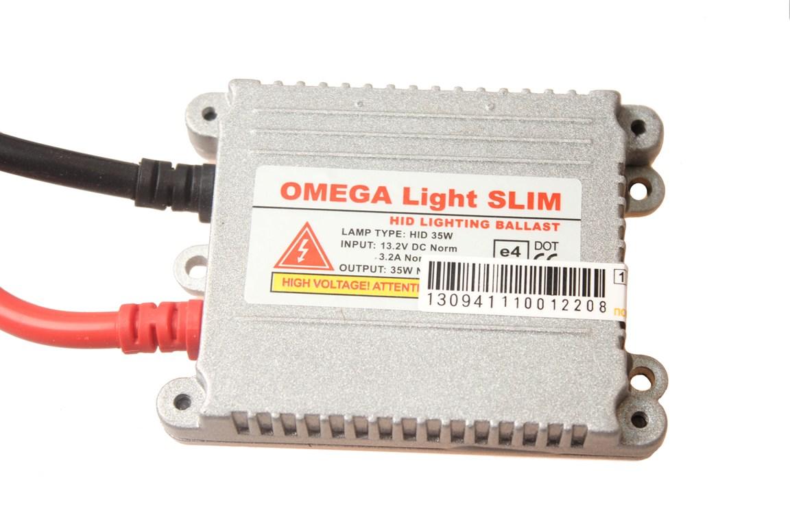 Блок высокого напряжения OmegaLight SlimS03301004Блок розжига Omega Light используется для запуска ламп ксенонового света. Оптимальный выбор для эксплуатации в отечественных условиях. Отличается безотказностью в работе и долгим сроком службы (2000 часов).Стабильный розжиг. Напряжение 12 В. Протестирован зимой, работает на морозе. В ЦВЕТНОЙ УПАКОВКЕ