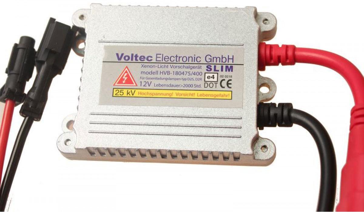 Блок высокого напряжения Voltec SlimBV1 SL0 000-000Блок розжига в тонком корпусе. Лучшее соотношение цены-качества. DESIGN IN GERMANI Имеет полностью влагозащищенный корпус