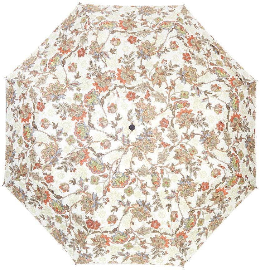 Зонт Labbra жен А3-05-LT033 1345100948B/32793/5900NЖенский зонт-автомат торговой марки LABBRA. Купол: 100% полиэстер, эпонж. Материал каркаса: сталь + алюминий + фибергласс. Материал ручки: пластик. Длина изделия - 29 см. Диаметр купола - 105 см.