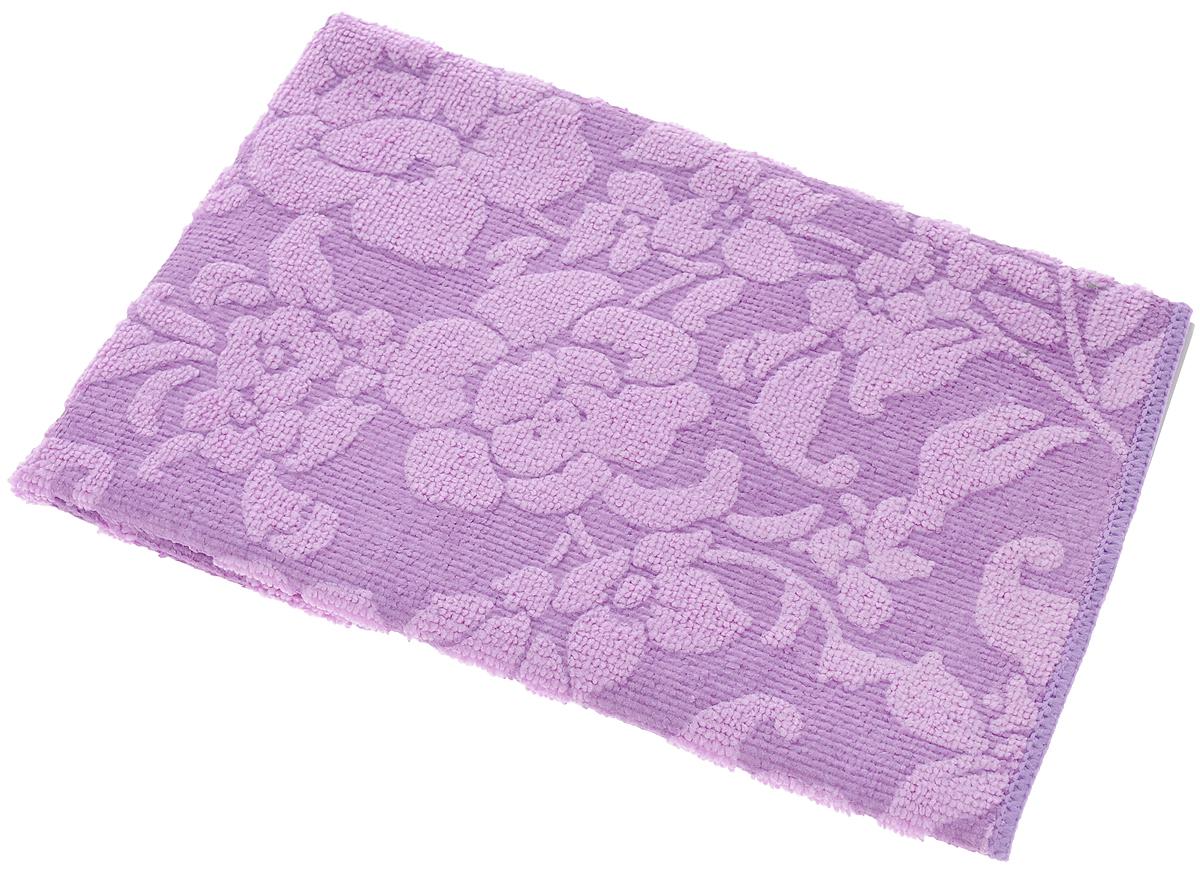 Салфетка для уборки Доминго Плюш-ап, универсальная, цвет: фиолетовый, 35 х 36 смМФ014Салфетка для уборки Доминго Плюш-ап, выполнена из микрофибры (полиамид и полиэстер), предназначена для уборки и может применяться как с моющим средством, так и без. Эффективно впитывает жидкость, втягивает и удерживает частицы грязи, жира и пыли. Мягкая и прочная, легко отжимается и быстро сохнет. Рекомендации по уходу: Для обеспечения гигиеничности уборки после применения прополоскать в теплой воде. Салфетку можно стирать вручную или в стиральной машине с моющими средствами без кондиционера при температуре до 60°C. Если салфетка станет хуже справляться с грязью, значит микроволокна забились жиром. Прокипятите салфетку в течение 5 минут с моющим средством, и она вернется в рабочее состояние.