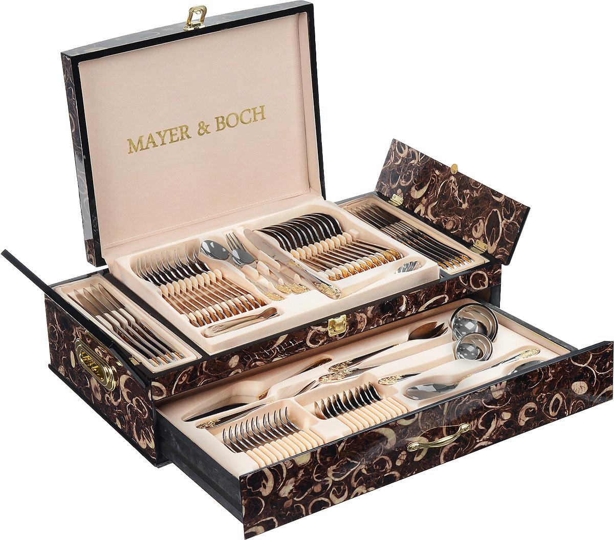 Mayer & Boch Набор столовых приборов Mayer&Boch, 73 предмета. 23450