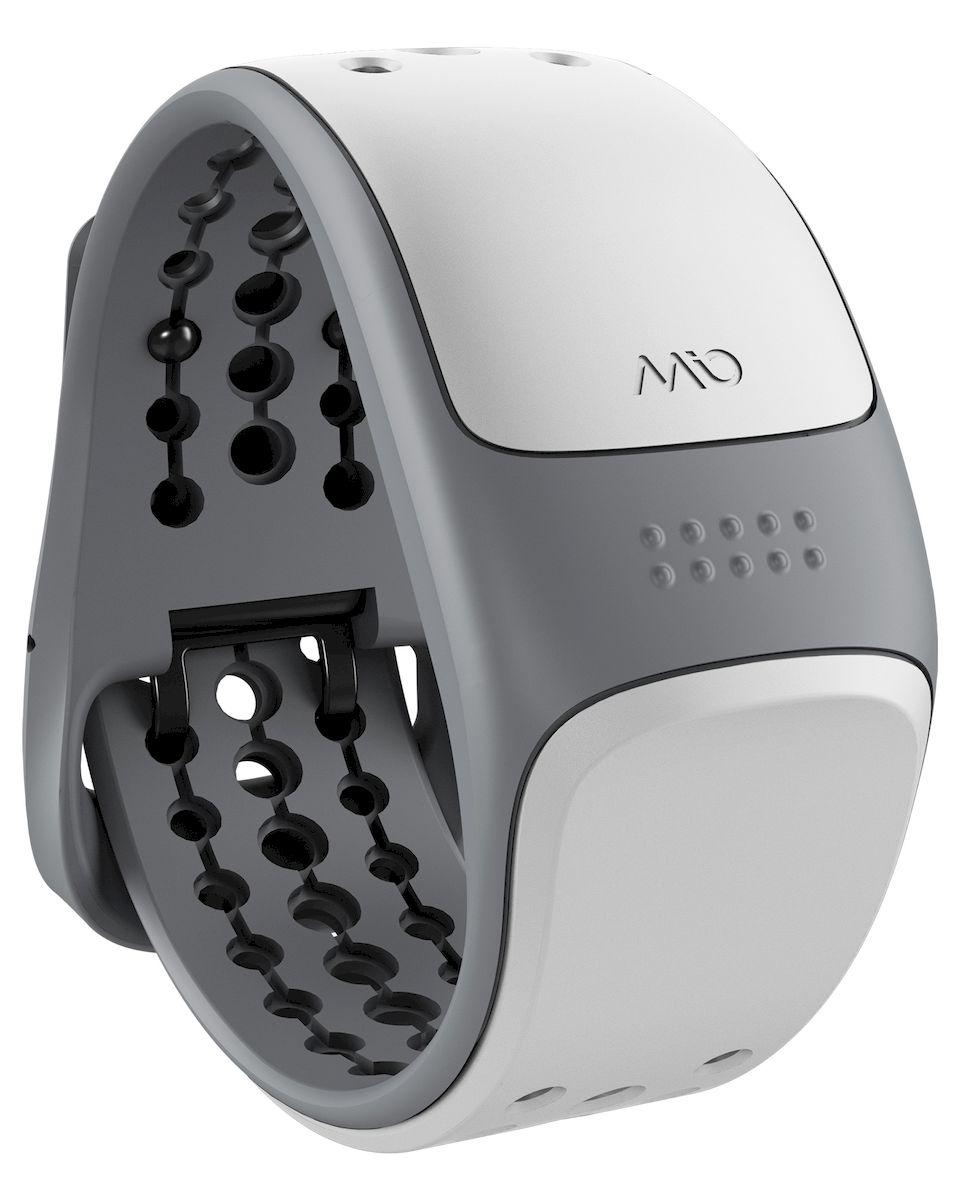 Пульсометр Mio LINK White Small-Medium, цвет: белый, серый56P-WHTMio LINK - запястный пульсометр, обеспечивающий точность ЭКГ и работающий с самыми популярными смартфонами и фитнес-приложениями, спортивными часами, велокомпьютерами и другим фитнес-оборудованием, поддерживающим связь по Bluetooth Smart (Bluetooth 4.0) и ANT+ - Датчик пульса (MIO Optical Heart Rate Technology) - Подключается к смартфону по Bluetooth Smart (Bluetooth 4.0) - Возможность подключения по ANT+ к совместимому спортивному оборудованию - Водонепроницаемость - 30 метров - RGB-светодиод, индицирующей одну из пяти пульсовых зон - Аккумулятор: 1 месяц с выключенным пульсометром / 8 часов в режиме тренировки - Совместимость: iPhone & Android, GPS-часы, велокомпьютеры и другое спортивное оборудование - Собственнные приложения и популярные сторонние (Runkeeper, Endomondo, Nike+, Adidas, Runtastic и др.)