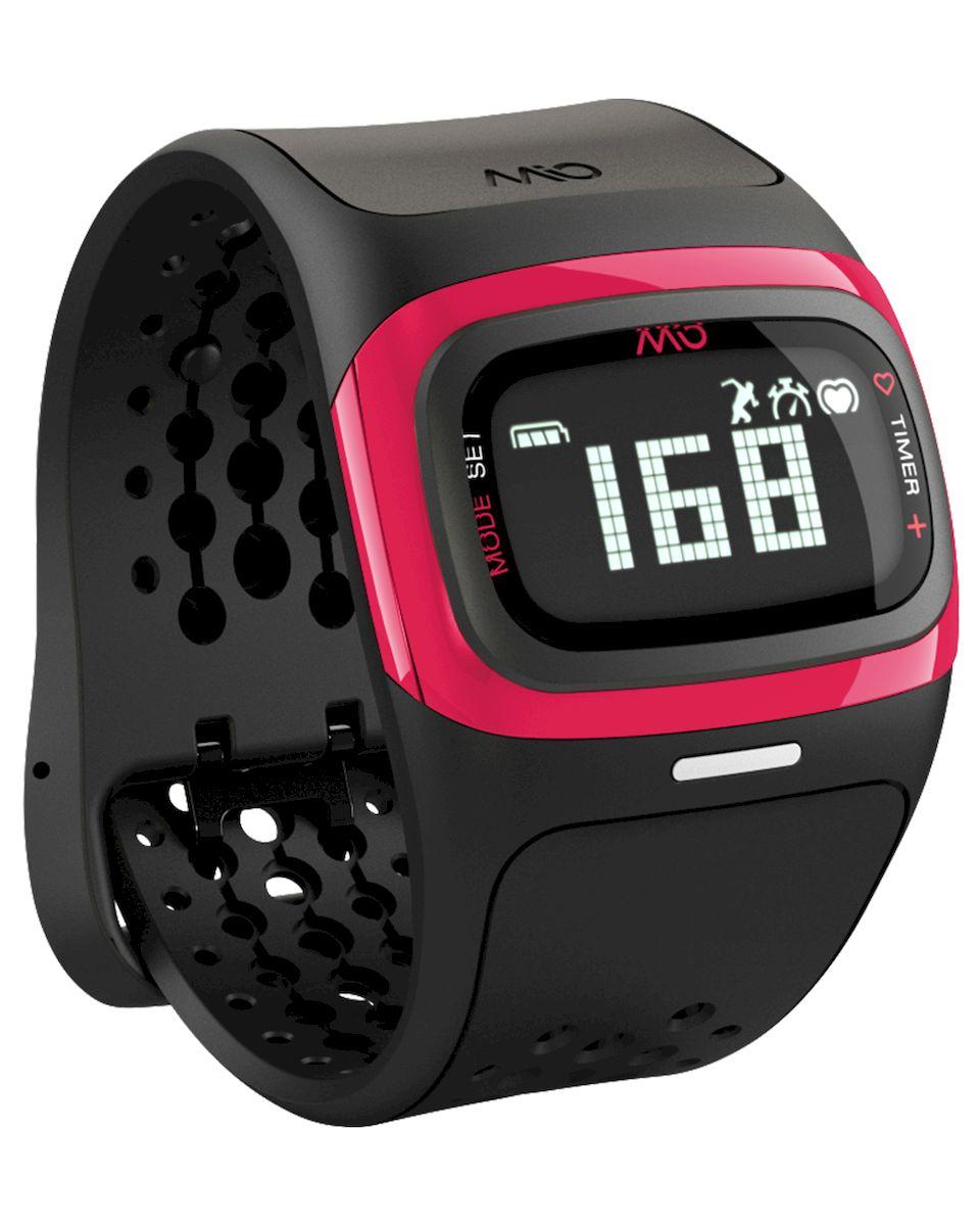 Спортивные часы Mio ALPHA 2 Pink Small-Medium, цвет: черный, розовый58P-PNKMio ALPHA 2 - это спортивные часы с высокоточным оптическим пульсометром и одновременно фитнес-трекер, которые могут работать как самостоятельно, так и в паре с популярными фитнес-приложениями на смартфонах на базе iOS и Android - Датчик пульса (MIO Optical Heart Rate Technology) - Подключается к смартфону по Bluetooth Smart (Bluetooth 4.0) - Отображение пульса на дисплее в режиме реального времени - Часы, хронограф и различные таймеры для режима тренировки - Подсчет ежедневной активности (шаги, калории, дистанция) - Отображение данных тренировки на дисплее (темп, скорость, дистанция) - Подсчет затраченных калорий исходя из нагрузки на сердце (пульса) - Звуковые уведомления при переходе между зонами пульса - RGB-светодиод, индицирующей одну из пяти пульсовых зон - Монохромный ЖК-дисплей с подсветкой / водонепроницаемость - 30м - Аккумулятор: 3 месяца в базовом режиме / 20-24 часа в режиме тренировки - Память: 14 дней в базовом...
