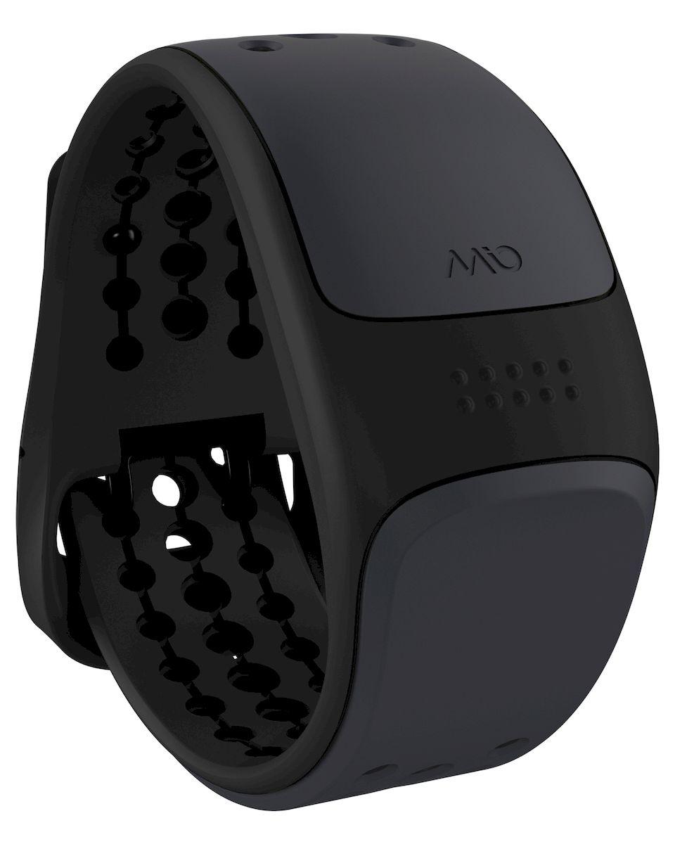 Пульсометр Mio LINK Grey Large, цвет: черный, серый56P-GRY-LMio LINK - запястный пульсометр, обеспечивающий точность ЭКГ и работающий с самыми популярными смартфонами и фитнес-приложениями, спортивными часами, велокомпьютерами и другим фитнес-оборудованием, поддерживающим связь по Bluetooth Smart (Bluetooth 4.0) и ANT+ - Датчик пульса (MIO Optical Heart Rate Technology) - Подключается к смартфону по Bluetooth Smart (Bluetooth 4.0) - Возможность подключения по ANT+ к совместимому спортивному оборудованию - Водонепроницаемость - 30 метров - RGB-светодиод, индицирующей одну из пяти пульсовых зон - Аккумулятор: 1 месяц с выключенным пульсометром / 8 часов в режиме тренировки - Совместимость: iPhone & Android, GPS-часы, велокомпьютеры и другое спортивное оборудование - Собственнные приложения и популярные сторонние (Runkeeper, Endomondo, Nike+, Adidas, Runtastic и др.)