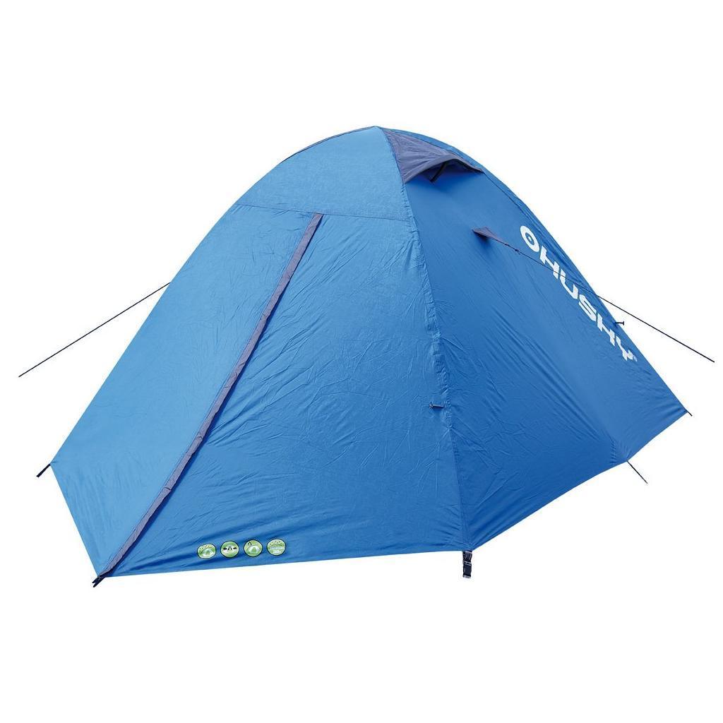 Палатка туристическая Husky BOYARD 4, цвет: синийУТ-000047173Палатка BOYARD 4 - самая простая в установке палатка с гигантской спальней для четырех человек, двумя вестибюлями с отдельными входами и достаточным местом для всего необходимого. Вес: 3,5 кг Кол-во чел.: 4 Кол-во входов: 2 Высота: 130 см Длина: 400 см Ширина: 210 см Размеры в сложенном виде: 50х18 см - Ленточные швы - Два тамбура - Застежка-молния с двойным ходом - Фибергласовые дуги (durawrap), диаметр 8,5 мм/7,9 мм - Комфортная вентиляционная система - Наружный тент - из полиэстера 185Т, водостойкость 3000 мм. ст. - Внутренний тент - дышащий нейлон 190Т, противомоскитные сетки - Пол - полиэстер 190Т, водостойкость 6000 мм. ст. - Пригодна для пешего туризма, кемпинга Комплектация: стальные колышки, ремкомплект, компрессионный мешок, сетка для мелочей