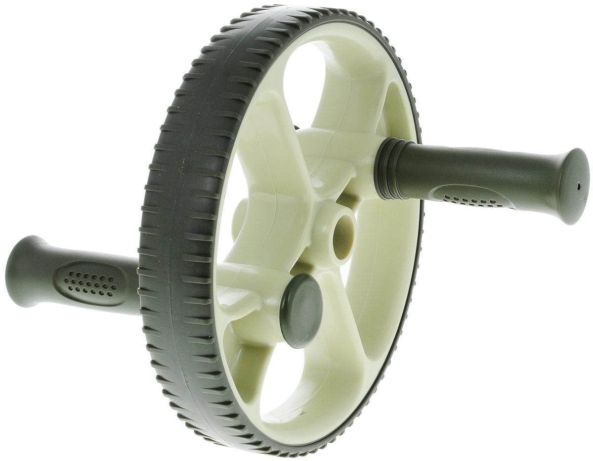Ролик для пресса Ecowellness, со сменными ручками, цвет: зеленый, диаметр 22,5 см. QB-704G3-BRUC-01Этот прочный ролик для пресса изготовлен из термопластичной резины и идеально подходит для тренировки мышц нижней части живота, при этом так же тренируются мышцы пресса, спины, рук и плеч.Сменные рукоятки позволяют делать как простые, так и более сложные упражнения.Ролик имеет увеличенный диаметр - 22,5 см.