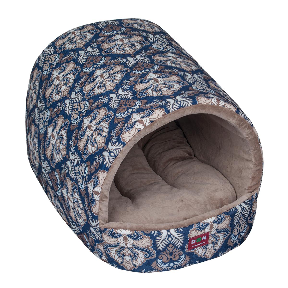 Домик для животных Dogmoda Туннель, 50 х 41 х 33 смDM-160285Домик Dogmoda Туннель непременно станет любимым местом отдыха вашего домашнего животного. Изделие выполнено из высококачественного хлопка, нетканого материала, а наполнитель - из холлофайбера и поролона. Такой материал не теряет своей формы долгое время. Внутри имеется мягкая съемная подстилка. В таком домике ваша собачка будет проводить свое свободное время, грызть вкусные косточки и лакомства, играть в любимые игрушки и просто отдыхать, наслаждаясь удобством.
