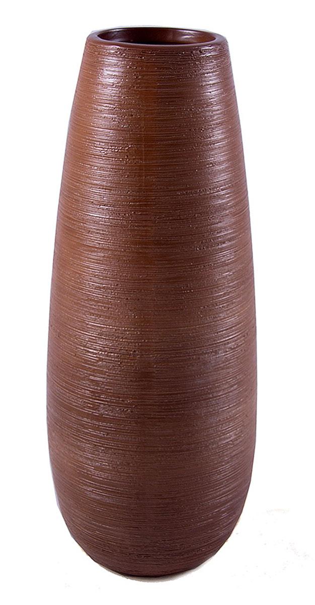 Ваза Русские Подарки, высота 32 см. 114813114813Ваза Русские Подарки, выполненная из керамики, украсит интерьер вашего дома или офиса. Оригинальный дизайн и красочное исполнение создадут праздничное настроение. Такая ваза подойдет и для цветов, и для декора интерьера. Кроме того - это отличный вариант подарка для ваших близких и друзей. Правила ухода: мыть теплой водой с применением нейтральных моющих средств. Размер вазы: 12 х 12 х 32 см.