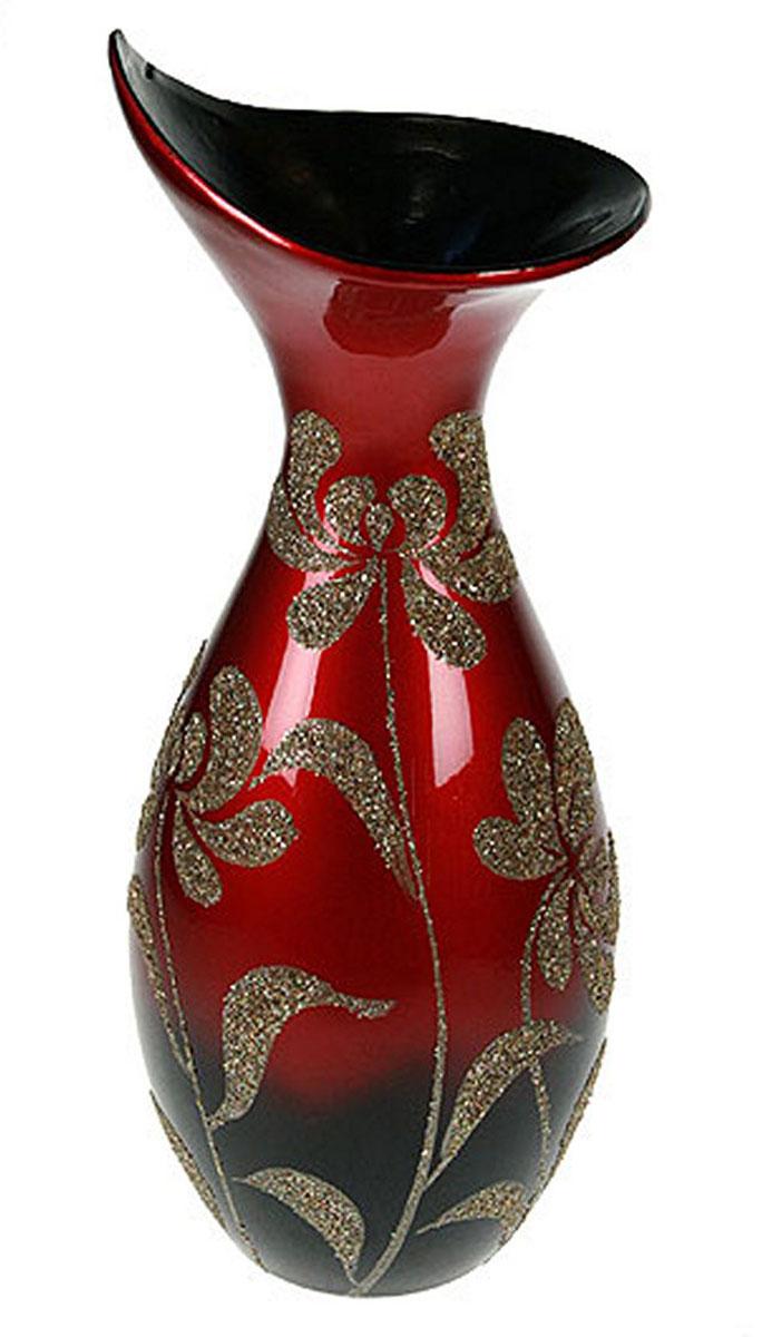 Ваза Русские Подарки, высота 41 см. 1490314903Ваза Русские Подарки, выполненная из керамики, украсит интерьер вашего дома или офиса. Оригинальный дизайн и красочное исполнение создадут праздничное настроение. Такая ваза подойдет и для цветов, и для декора интерьера. Кроме того - это отличный вариант подарка для ваших близких и друзей. Правила ухода: регулярно вытирать пыль сухой, мягкой тканью. Размер вазы: 15 х 15 х 41 см.