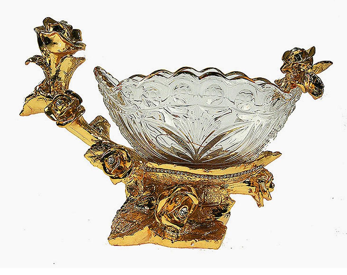 Конфетница Русские Подарки Версаль, 13 х 30 х 21 см. 4891848918