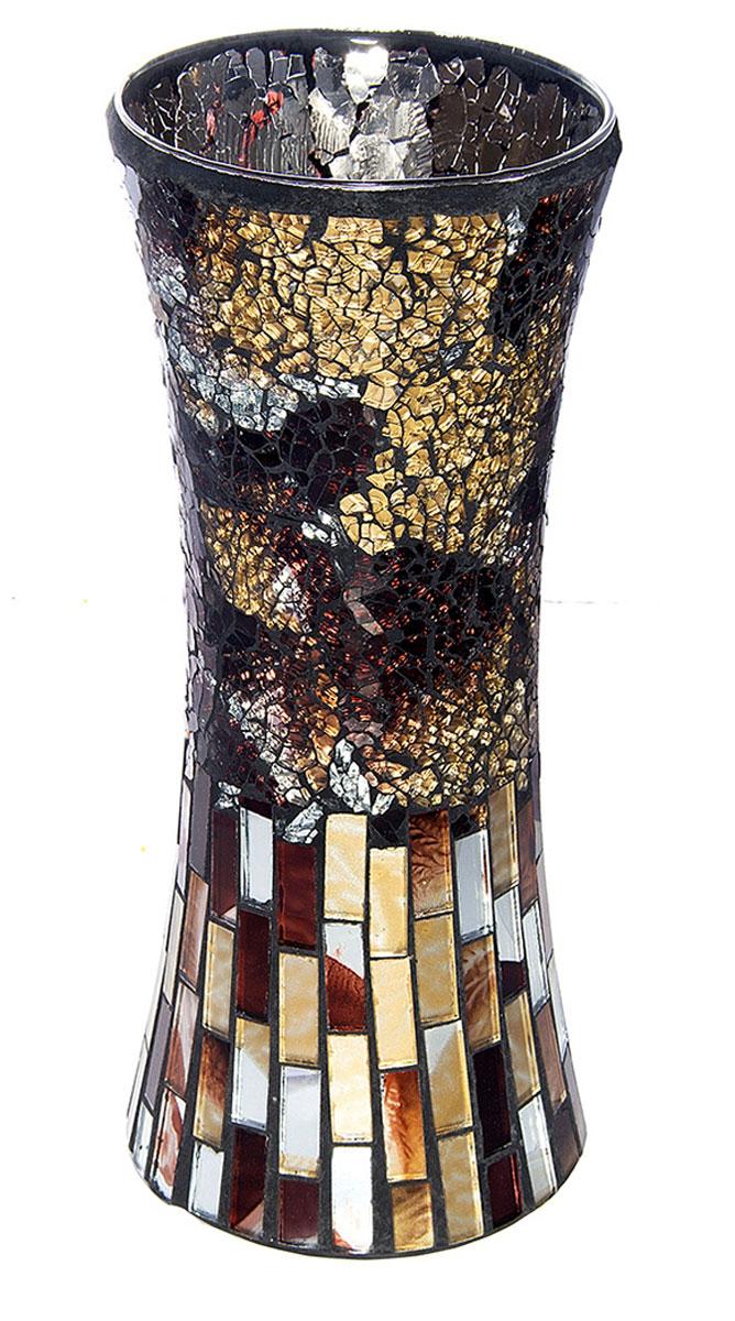 Ваза Русские Подарки Мозаика, высота 30 см. 8670886708Ваза Русские Подарки, выполненная из стекла, украсит интерьер вашего дома или офиса. Оригинальный дизайн и красочное исполнение создадут праздничное настроение. Такая ваза подойдет и для цветов, и для декора интерьера. Кроме того - это отличный вариант подарка для ваших близких и друзей. Правила ухода: мыть теплой водой с применением нейтральных моющих средств. Размер вазы: 13 х 13 х 30 см.