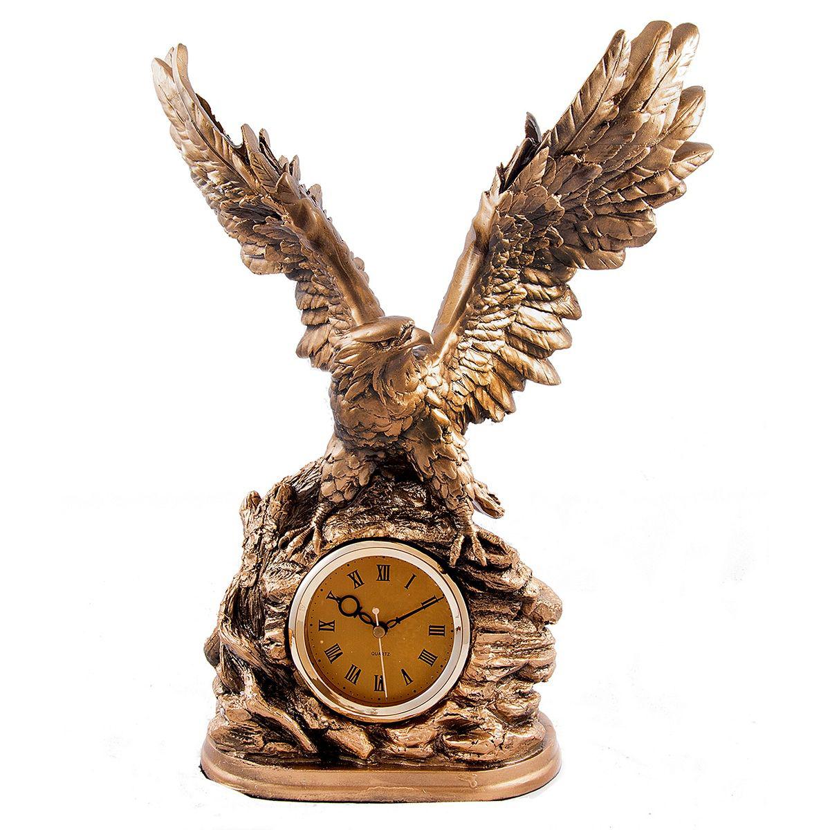 Часы настольные Русские Подарки Орел, 34 х 21 х 43 см. 5932559325