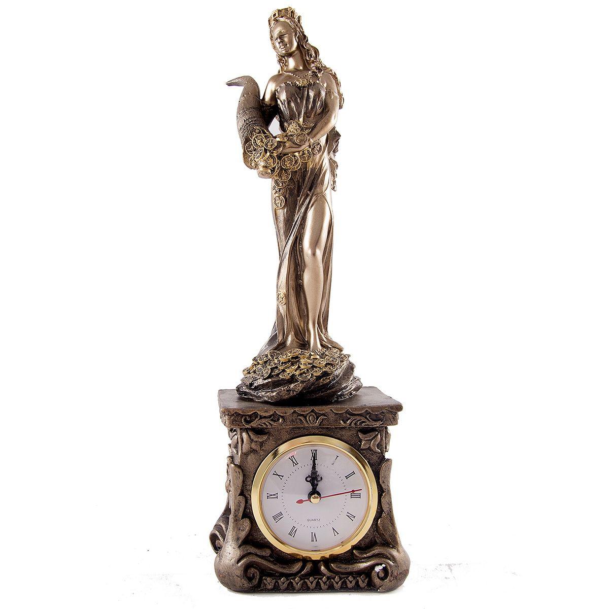 Часы настольные Русские Подарки Римская богиня счастья и удачи - Фортуна. 5934559345