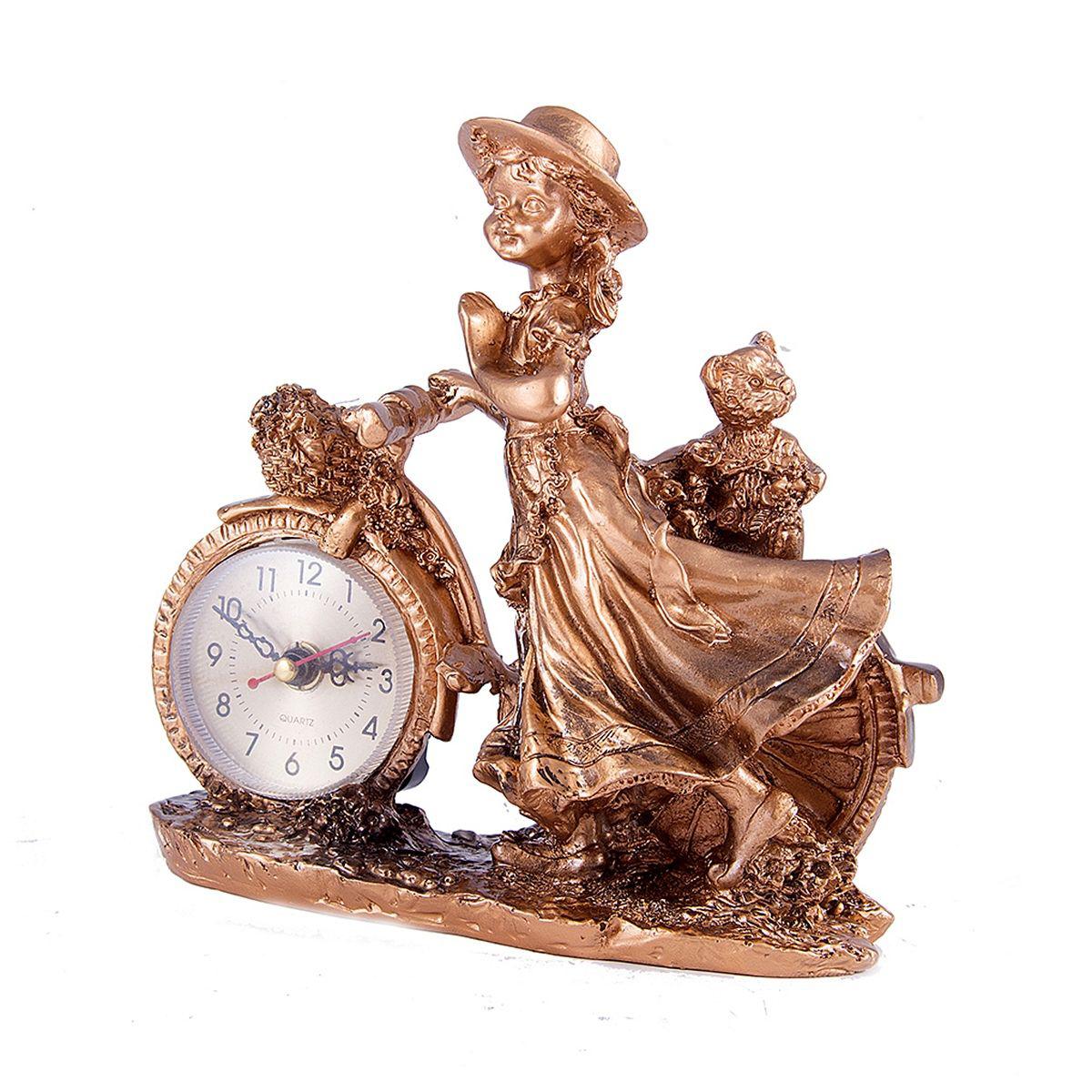 Часы настольные Русские Подарки Прогулка, 18 х 19 см. 5941659416