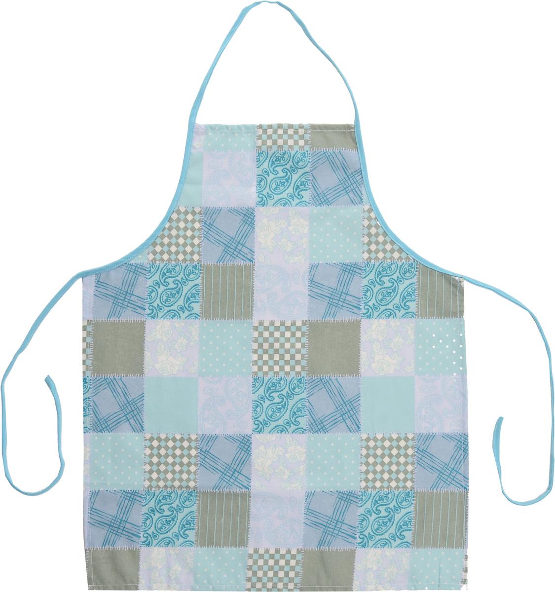 Фартук Bonita Голубика, 56 х 67 см14010815709Фартук Bonita Голубика изготовлен из натурального хлопка с покрытием, которое отталкивает грязь, воду и масло. Фартук оснащен завязками. Имеет универсальный размер. Декорирован красивым узором, который понравится любой хозяйке. Такой фартук поможет вам избежать попадания еды на одежду во время приготовления пищи. Кухня - это сердце дома, где вся семья собирается вместе. Она бережно хранит и поддерживает жизнь домашнего очага, который нас согревает. Именно поэтому так важно создать здесь атмосферу, которая не только возбудит аппетит, но и наполнит жизненной энергией. С текстилем Bonita открывается возможность не только каждый день дарить кухне новый облик, но и создавать настоящие кулинарные шедевры. Bonita станет незаменимым помощником и идейным вдохновителем, создающим вкусное настроение на вашей кухне.
