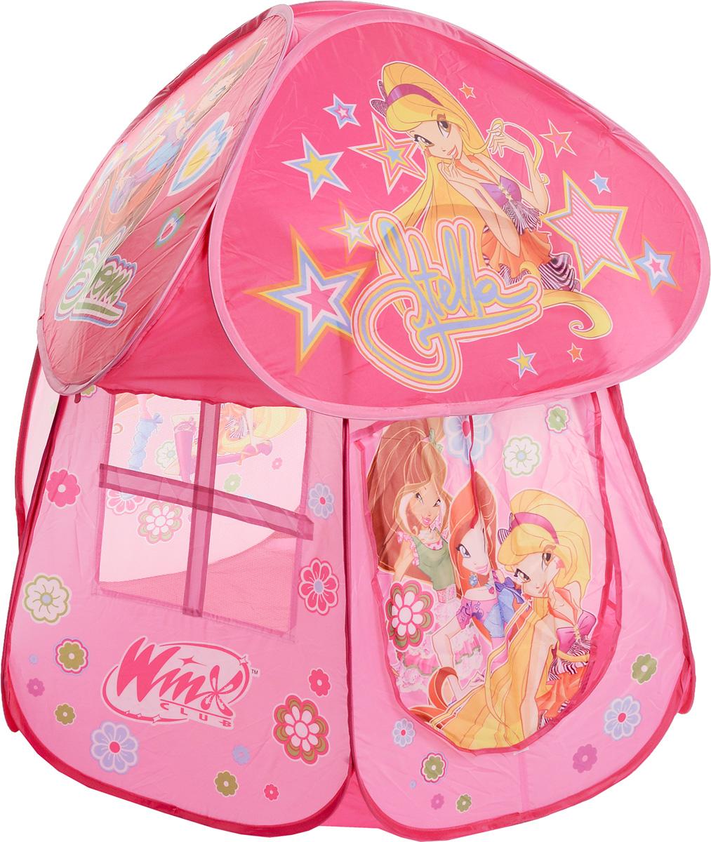 1TOY Детская игровая палатка Winx Club 100 х 90 х 95 см Т56299