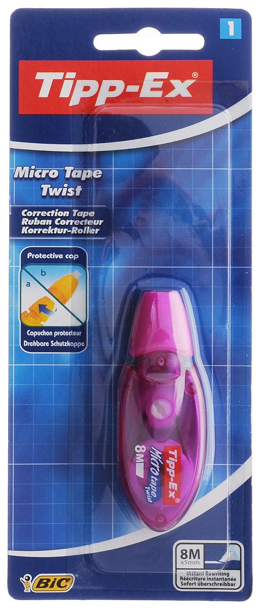 Bic Корректирующая лента Tipp-Ex Micro Tape 8 м цвет фиолетовый B8705001_фиолетовый