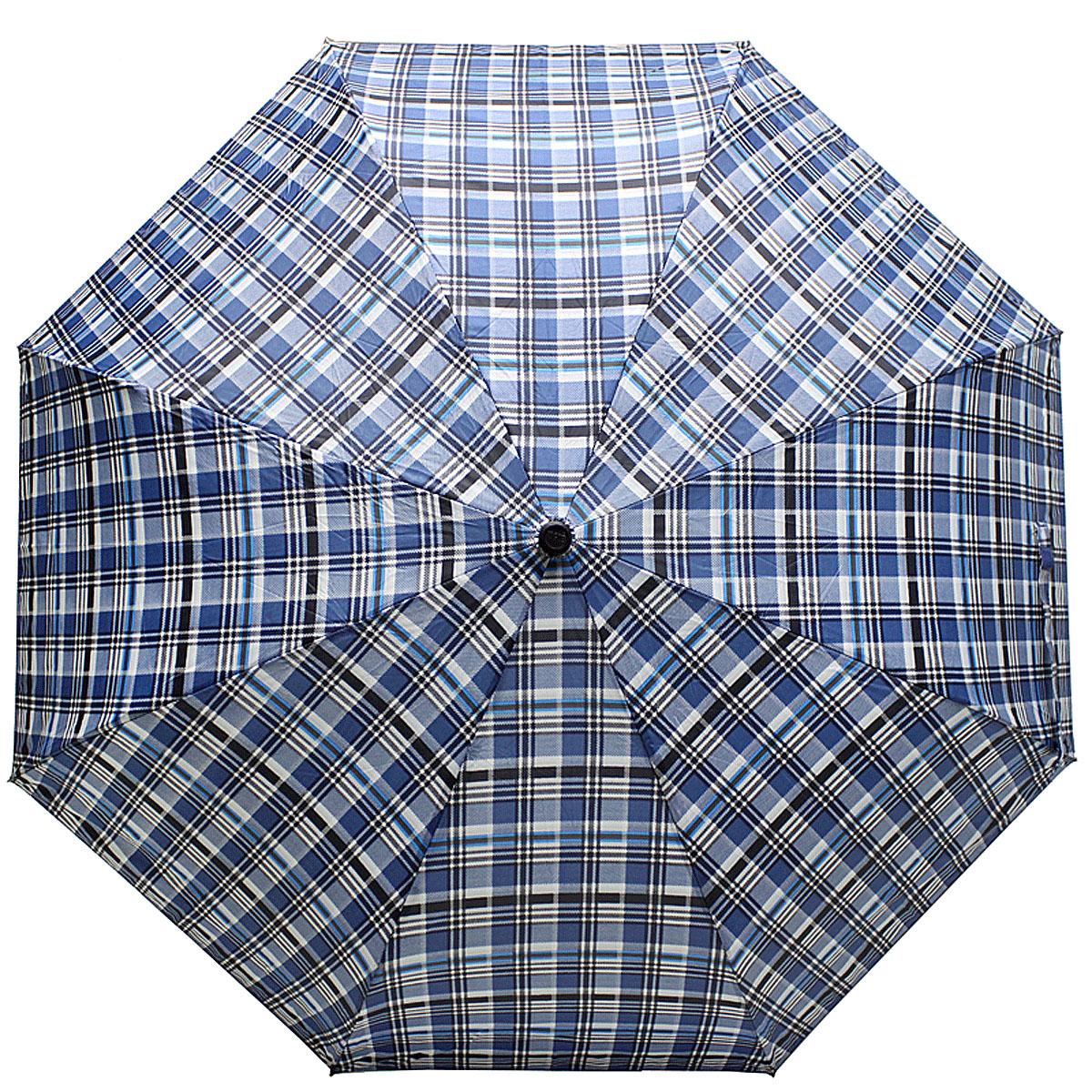 Зонт женский Vogue, цвет: синий. 448V-23.7-12 navyСтильный механический зонт испанского производителя Vogue оснащен каркасом с противоветровым эффектом.Каркас зонта включает 8 спиц. Стержень изготовлен из стали, купол выполнен из прочного полиэстера. Зонт является механическим: купол открывается и закрывается вручную до характерного щелчка. Такой зонт не только надежно защитит вас от дождя, но и станет стильным аксессуаром, который идеально подчеркнет ваш неповторимый образ. Рекомендации по использованию: Мокрый зонт нельзя оставлять сложенным. Зонт после использования рекомендуется сушить в полураскрытом виде вдали от нагревательных приборов. Чистить зонт рекомендуется губкой, используя мягкие нещелочные растворы.