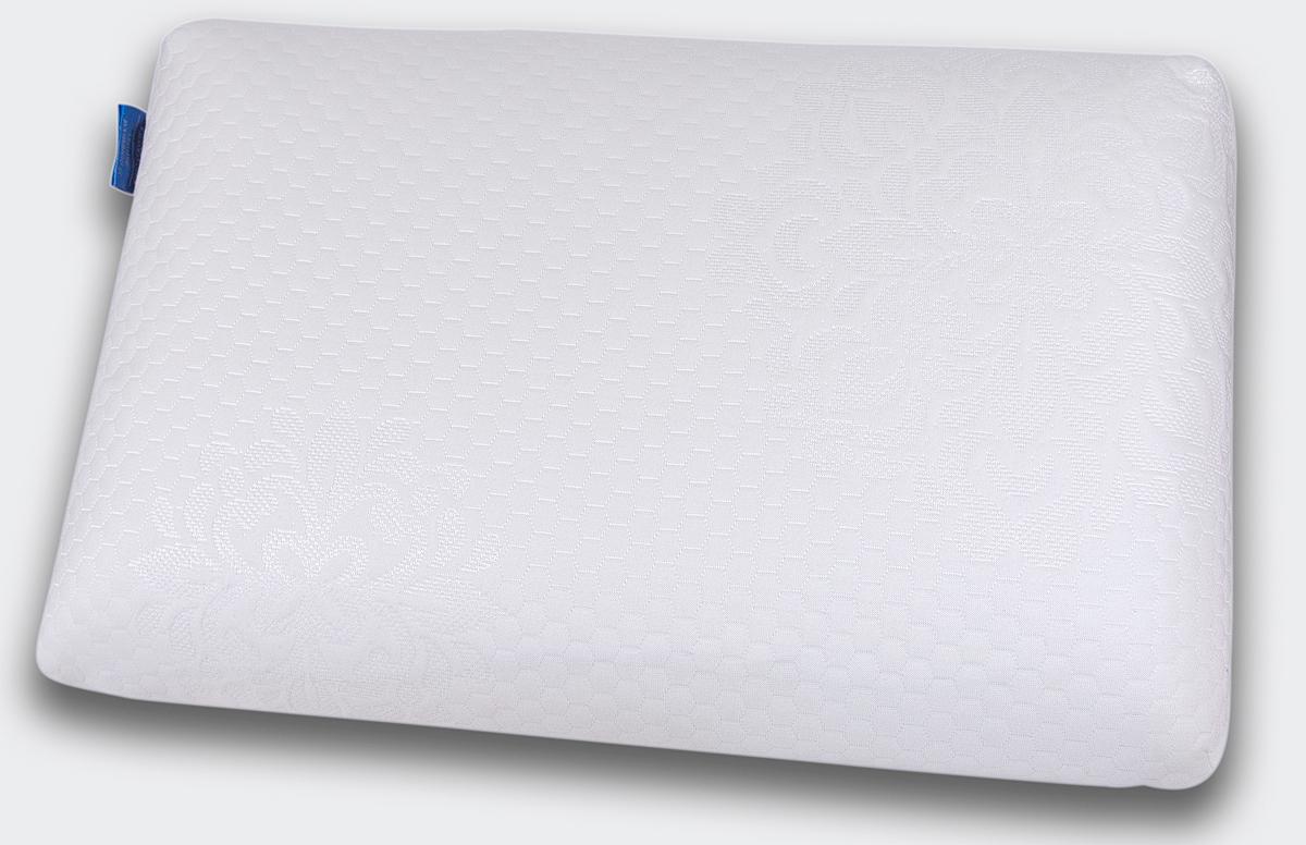 Подушка анатомическая IQ Sleep Cool Feel, с эффектом памяти, 90 x 385 x 600 мм18220Анатомическая супер комфортная подушка Cool Feel, размера S, создана на основе анатомической пены с эффектом памяти для упругой, но нежной поддержки головы и шеи, ощущения приятного охлаждения и великолепного комфорта во время сна. Cool Feel не требует наличия специальных валиков для поддержки шеи и предназначена для: - обеспечения естественного положения и полноценного отдыха шеи и головы - профилактики спазма затылочных мышц и шеи - улучшения кровоснабжения головного мозга и стимулирования работы мозга - снятия зрительной нагрузки и профилактики близорукости - профилактики инсульта в вертебро-базилярной системе - улучшения сна - профилактики общего стресса организма Cool Feel удобна в использовании. В отличие от обычных подушек, она не теряет форму и поддерживает голову и шею в течение всей ночи. Подходит для взрослых и детей от 4 лет: - для людей, которые предпочитают спать на спине,...