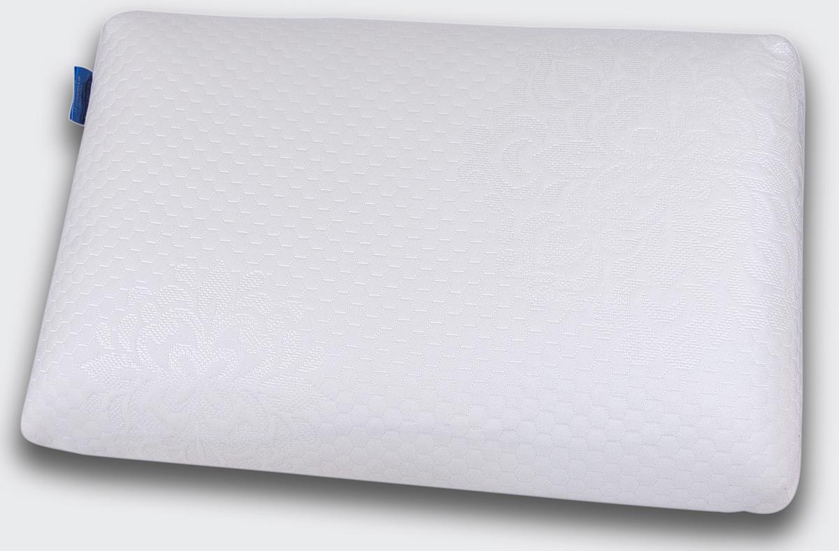 Подушка ортопедическая IQ Sleep Sensation, с эффектом памяти, 38 х 58 х 11 см16777Супер комфортная анатомическая подушка классической формы SENSATION уникальна. Подушка сочетает в себе три основных фактора идеальной подушки: ортопедическую поддержку, удобную классическую форму и невероятный комфорт благодаря премиальной анатомической пене c эффектом памяти OPTIREST. SENSATION не требует наличия специальных валиков для поддержки шеи и предназначена для: - обеспечения естественного положения и полноценного отдыха шеи и головы, - профилактики спазма затылочных мышц и шеи, - улучшения кровоснабжения головного мозга и стимулирования работы мозга, - снятия зрительной нагрузки и профилактики близорукости, - профилактики инсульта в вертебро-базилярной системе, - улучшения сна, - профилактики общего стресса организма. Sensation удобна в использовании. В отличие от обычных подушек, она не теряет форму и поддерживает голову и шею в течение всей ночи. Подходит для взрослых и детей от 8 лет:...