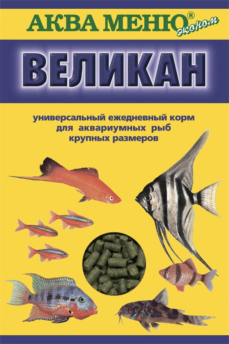 Корм для рыб Аква Меню Великан, для крупных аквариумных рыб, 35 г корм для рыб аква меню флора 2 с растительными добавками для рыб средних размеров 30 г