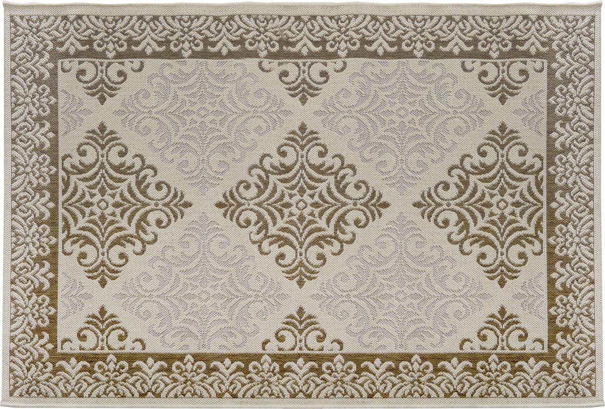 Ковер Oriental Weavers Давн, цвет: бежевый, коричневый, 120 х 170 см21102Прикроватный коврик Oriental Weavers Давн выполнен из текстиля и полипропилена. Изделие долго прослужит в вашем доме, добавляя тепло и уют, а также внесет неповторимый колорит в интерьер любой комнаты. Такой коврик отлично подойдет к вашему интерьеру.