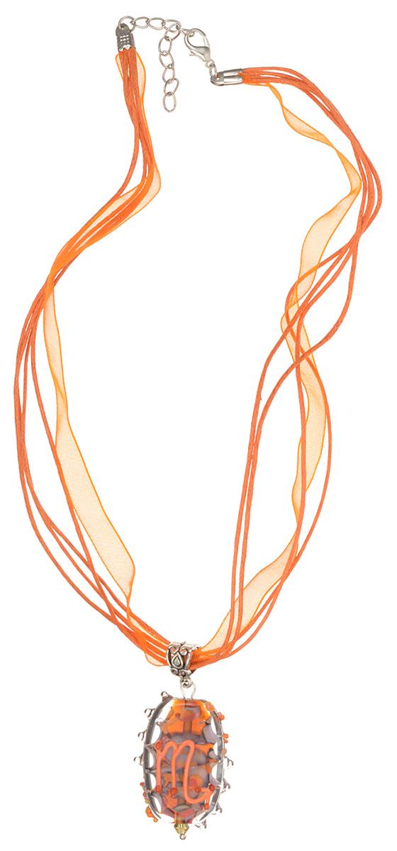 Кулон Знак зодиака - Скорпион (Стекло, металл) - Авторская работаБраслет с подвескамиВысота кулона 4 см, ширина 2,5 см. Материал: Стекло, металл, кристаллы. Цвет: Янтарный, светло-красный, коричневый, темно-желтый.Автор: Ольга Букина. Элегантный кулон со знаком Зодиака Скорпион - стихия воды, кулон выполнен в янтарном, темно желтом и светло-коричневом цветах земли, знак Скорпиона выполнен красным цветом.Рожденная под знаком Скорпиона - очень целеустремленная, надежный партнер и верная подруга. Если она считает вас своим - то будет защищать вас до конца, поддержит в трудную минуту. Женщина-Скорпион очень мила и привлекательна. Не стоит огорчать ее обманом - она прочтет вас, как раскрытую книгу. Женщина-Скорпион — огромная ценность и воспринимать ее следует очень серьезно.Это украшение ласковый подарок, янтарная капля на ладони отраженная в ее теплых глазах.УВАЖАЕМЫЕ КЛИЕНТЫ!Каждое украшение выполнено вручную и потому уникально. Ваше украшение может несколько отличаться в деталях от представленного на фотографии. Общий вид украшения сохраняется.